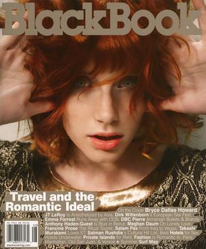 Bryce Dallas Howard - Black Book Cover - 2005