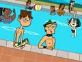 By the pool - total-drama-island fan art