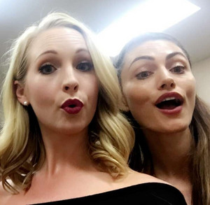 Candice and Phoebe