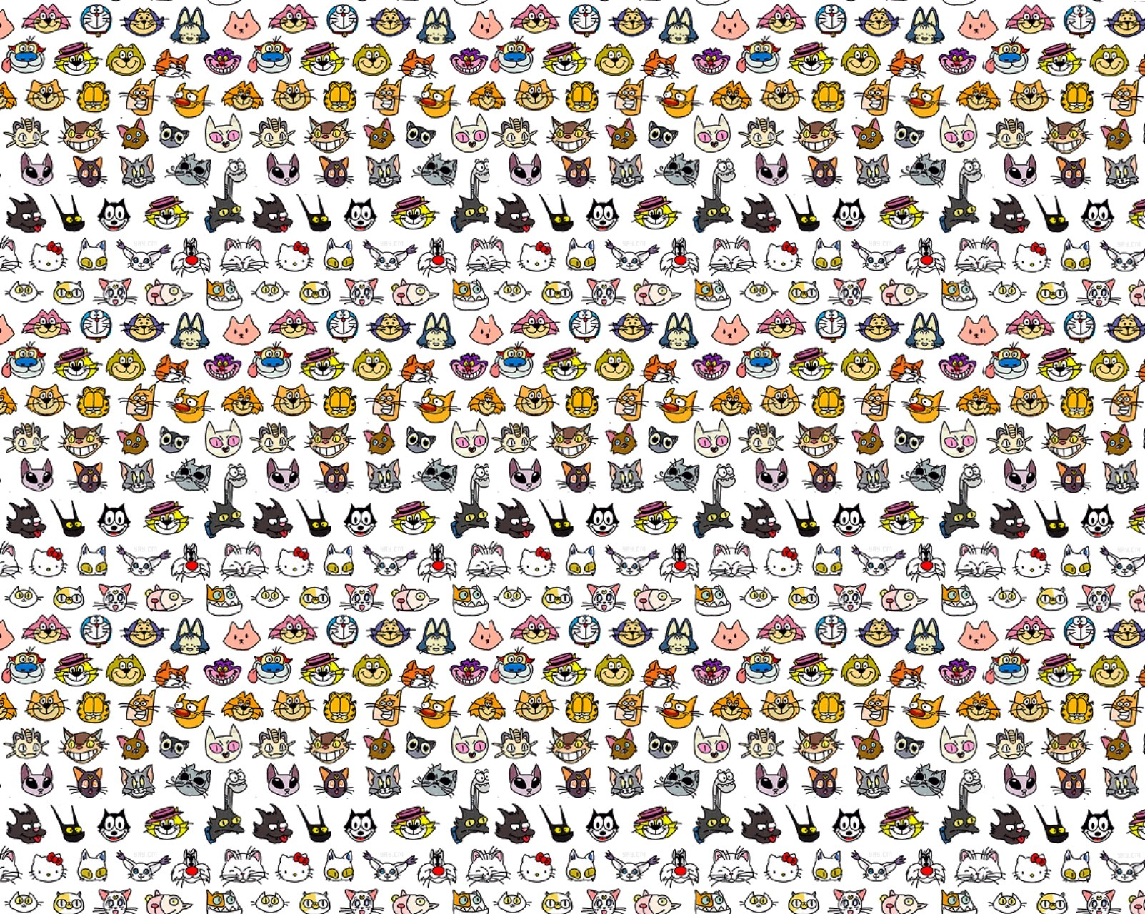 patternsbackgroundswallpaper images cartoon cats