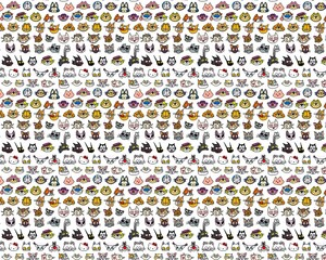 Cartoon kucing wallpaper