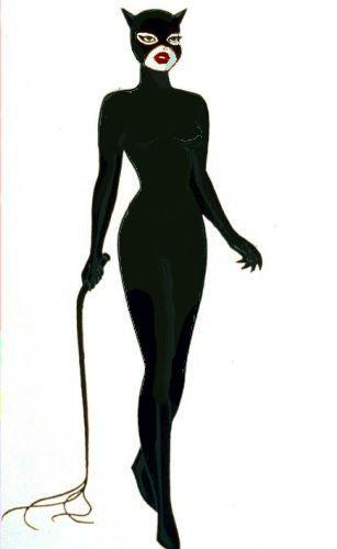 Catwoman Original Concept Look Héroïnes Des Dessins Animés