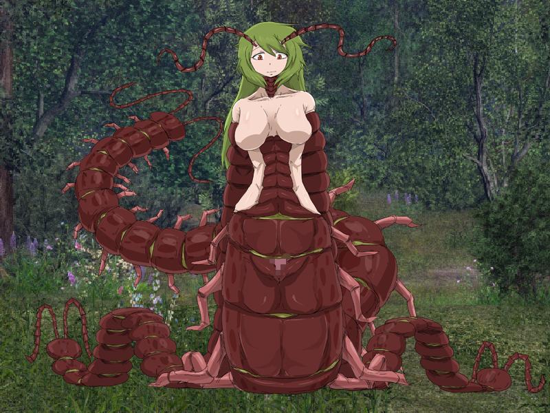 lipan, centipede Girl