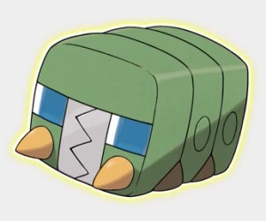 Charjabug, the battery Pokemon.