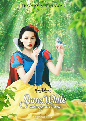 Chloë Grace Moretz as Snow White