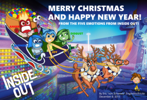 Christmas Card 2015 - Inside Out