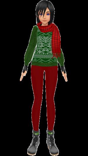 Christmas Xion by SanctuaryEmbrace