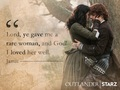 Claire and Jamie - outlander-2014-tv-series wallpaper