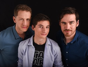 Colin, Josh and Jared | SDCC 2016