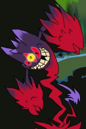 Creepy Mega Gengar