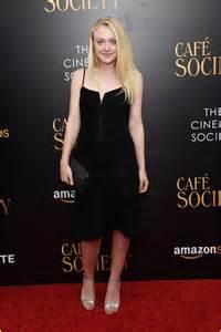Dakota Fanning at Cafe Society NYC premiere