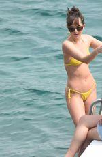 Dakota Johnson filming honeymoon scenes for FSF