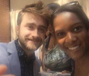Daniel Radcliffe on The View (Fb.com/DanielJacobRadcliffeFanClub)