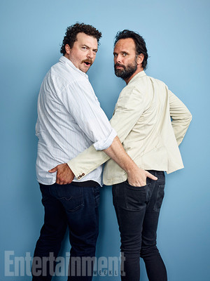 Danny McBride and Walton Goggins @ Comic-Con 2016 - Entertainment Weekly Portrait
