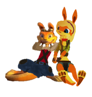 Daxter and Tess Renders