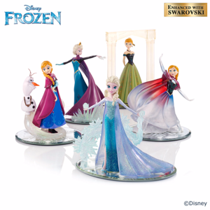 "迪士尼 ""Magical World Of Frozen"" Figurine Collection"