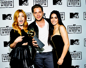 Dominic, Katherine and Emeraude