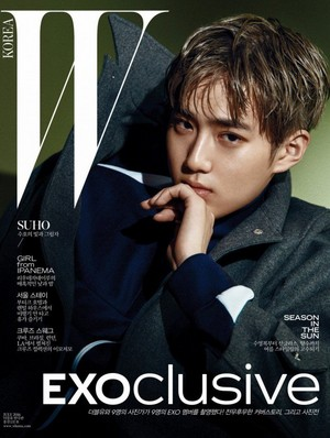EXO collaborate with 'W Korea' for an 'EXOclusive' gallery show!