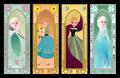 Elsa and Anna - frozen-fever fan art
