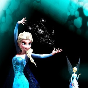 Elsa and the Minister of Winter