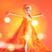Elsa fire icon - disney-princess icon