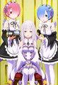 Emilia, Ram, Rem