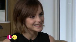 Emma Waston on Lorraine Show