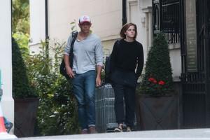 Emma Watson and Knight in London