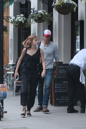 Emma Watson and Knight in Londres