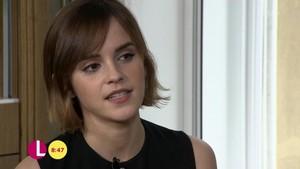 Emma Watson on Lorraine ipakita