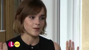 Emma Watson on Lorraine mostrar