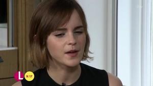 Emma Watson on Lorraine Zeigen