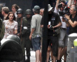Emma on the Sets of Colonia
