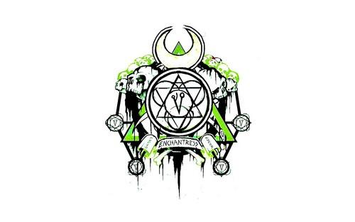Suicide Squad achtergrond titled Enchantress