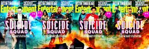 Entertainment Weekly's Suicide Squad Covers