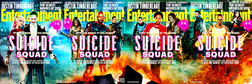 Suicide Squad 바탕화면 called Entertainment Weekly's Suicide Squad Covers