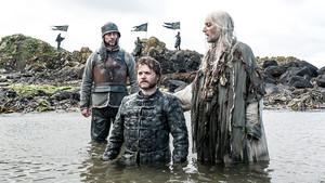 Euron and Aeron Greyjoy in 'The Door'