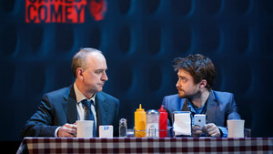 Ex: Daniel Radcliffe HD Latest From Stage 显示 'Privacy' (Fb.com/DanielJacobRadcliffeFanClub)