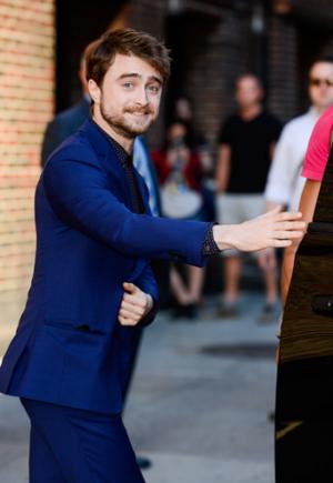 Exclusice: Daniel Radcliffe Visit 'The Late Show' (Fb.com/DanielJacobRadcliffeFanClub)