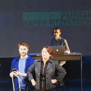 Exclusive: Daniel Radcliffe Stage Show 'Privacy'. (Fb.com/DanielJacobRadcliffeFanClub)