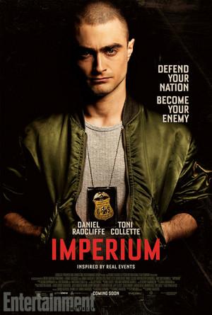 Exclusive: Imperium Poster Starring Daniel Radcliffe (Fb.com/DanielJacobRadcliffeFanClub)