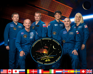 Expedition 48 Mission Crew