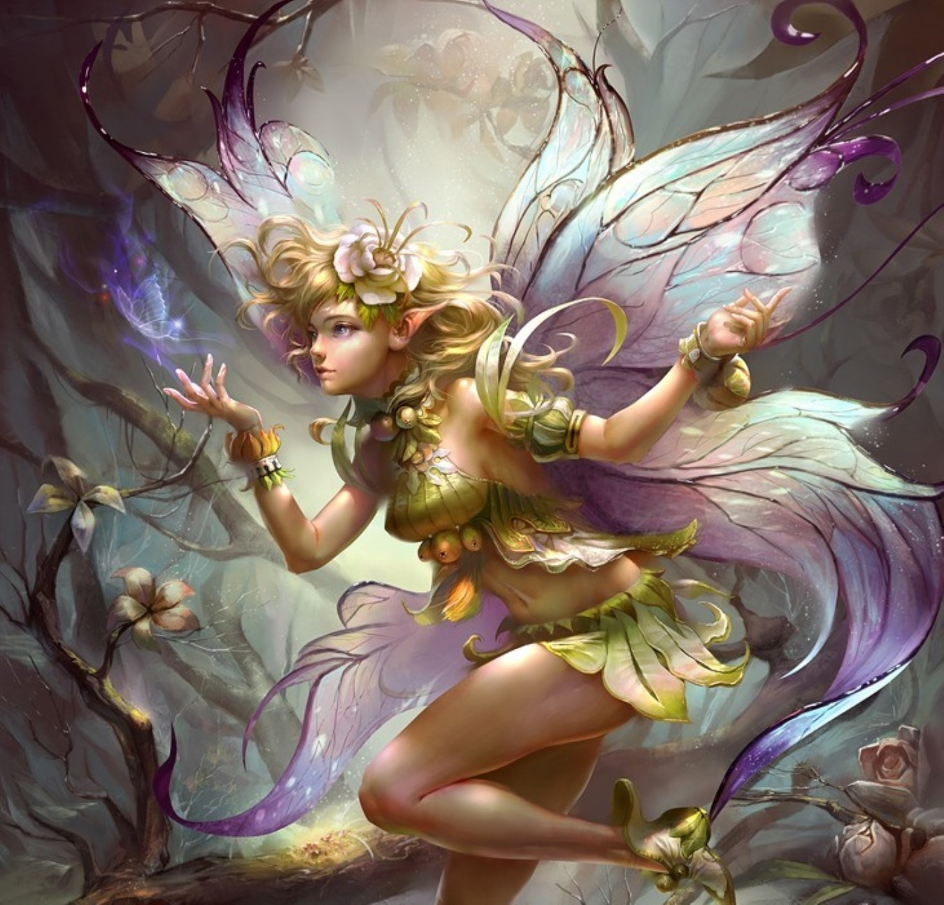 Fantasy fairy art naked images