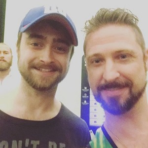 Fan Selfies with Daniel Radcliffe stage show Privacy. (FB.com/DanielJacobRadcliffeFanClub)