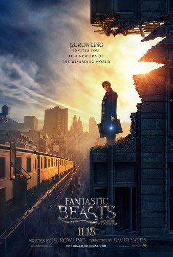 Fantastic Beasts and Where to Find Them wallpaper called Fantastic Beasts And Where To Find Them - New Poster