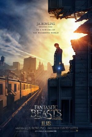 Fantastic Beasts and Where To Find Them~ New Poster