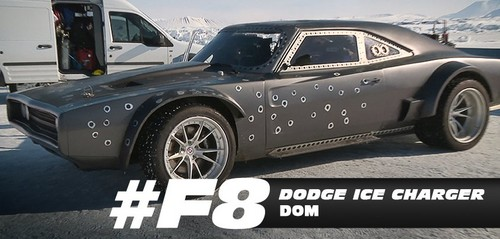 Fast and Furious wallpaper entitled Fast 8 Cars - Dom's Dodge Ice Charger