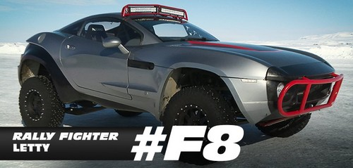 Fast and Furious fond d'écran entitled Fast 8 Cars - Letty's Rally Fighter