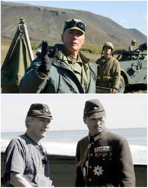 Flags of Our Fathers 2006 (director) and Letters from Iwo Jima 2006 (director) w/Ken Watanabe