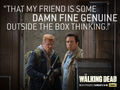 the-walking-dead - Friends wallpaper